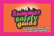 summer safety concertina card cover
